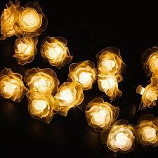 Solar-Powered <b>LED Rose String</b> Lights – Next Deal Shop