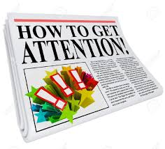 how to get attention newspaper headline promising advice and how to get attention newspaper headline promising advice and tips on getting good exposure and awareness