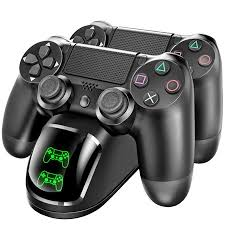 <b>Dual USB</b> Controller <b>Charger</b> for PS4 <b>Charging Dock</b> Station for ...