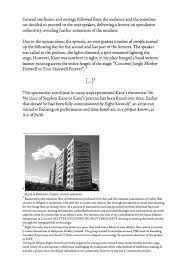 the cities that he worked in are no longer here com essay for space matters exploring spatial theory and practice today edited by lukas feireiss published by walter de gruyter 2013