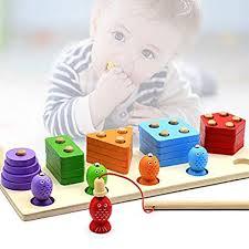AppyHut Wooden Montessori Educational Toys for ... - Amazon.com