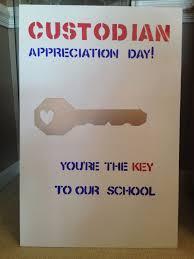 Custodian Appreciation Day poster. | Custodian Appreciation Ideas ... via Relatably.com