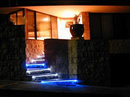 led lights for stairs outdoor staircase with led stair light strips application lamps staircase