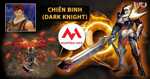 Hướng dẫn nhân vật Chiến Binh Mu Online, các tuyệt chiêu Dark Knight