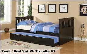 bedroom sets mattress furniture twin bed set w trundle