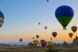 Image result for hot air balloons over cappadocia