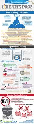 18 infographics on how to write an essay research paper gurl com essaywritingtips4
