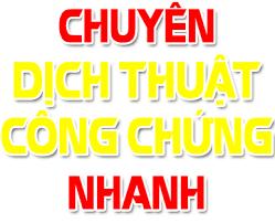 Công ty dịch thuật uy tín ở tại TP Hồ Chí Minh