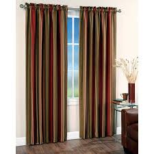 room combine red curtains