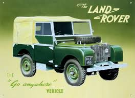 Land Rover, the Go Anywhere Vehicle