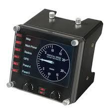 <b>Приборная панель Logitech G</b> Flight Instrument Panel 945-000008 ...