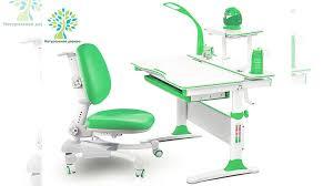 <b>Комплект Mealux EVO</b>-<b>30</b> парта+<b>кресло</b>+<b>лампа</b> зеленый купить в ...
