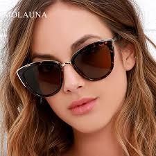 <b>2021 Fashion Cat</b> Eye Sunglasses Women Brand Design Vintage ...