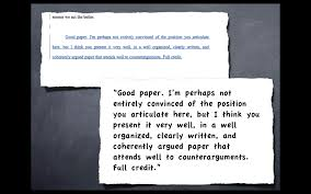 Advanced Essay Writing Techniques Work     and here     s the PROOF    Tutor Phil grade and comment for a larger paper