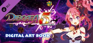 Disgaea <b>5</b> Complete - <b>Digital Art</b> Book on Steam