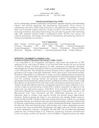 Manufacturing Engineer Resume Sample Sample Manufacturing Engineer Resume Production