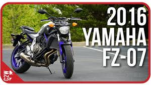 2016 <b>Yamaha FZ</b>-<b>07</b> (<b>MT</b>-<b>07</b>)   First Ride - YouTube