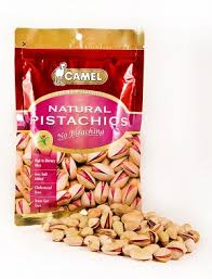 """Natural pistachios"", т.м. ""<b>Camel</b>"", 150гр"