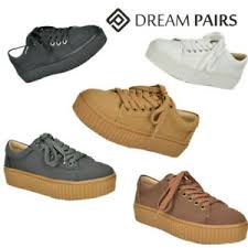 DREAM PAIRS Women's <b>New Fashion Comfortable</b> Lace Up ...