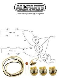 new precision bass pots wire wiring kit for fender p bass guitar new jazz bass pots wire wiring kit for fender jazz bass guitar diagram