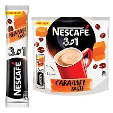 """Купить <b>Кофе растворимый NESCAFE</b> """"3 в 1 Карамельный"""", 20 ..."""