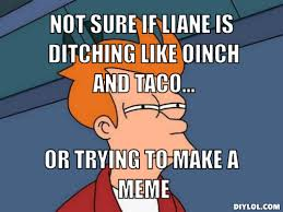 Unsure Fry Meme Generator - DIY LOL via Relatably.com