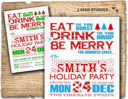 christmas invite christmas party invitation holiday party invitation adult holiday party invite eat drink be merry christmas party invite