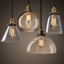 Vintage Pendant Lights <b>American country creative</b> glass Pendant ...