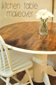 style cuisine painted oak rectangular dining table decorating through dental school kitchen table makeover