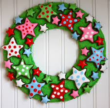 full size of ideas awesome round green flannel fabric diy christmas decoration sweet star cookies beautiful simply home office
