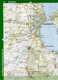 Майнский район. <b>Карта</b> Майнского района <b>Ульяновской области</b> ...