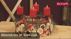 Adventskranz im <b>Retro</b>-Look | Floral Design | <b>christmas decoration</b> ...
