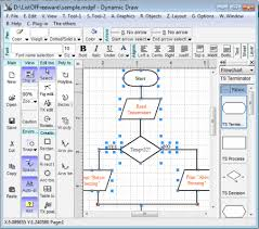 best free flowchart software for windowsdynamic draw is a good tool for making flowcharts and other popular diagrams  it provides more than  different flowchart shapes  some of them are