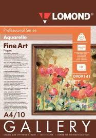 <b>Lomond Fine Art</b> Paper Gallery Aquarelle 210 g/m2 A4, 10 sheets