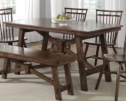 Dining Room Tables With Bench Bench Dining Room Set Ideas 13906