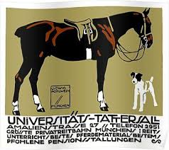'1912 Ludwig Hohlwein <b>Horse Riding Poster</b> Art ' Poster by ...