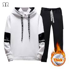 <b>Men's Fashion</b> Tracksuit <b>Casual</b> Sportsuit <b>Men Hoodies</b> Sportswear ...