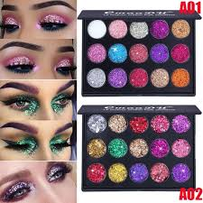 Brand Cmaadu <b>15 Colors</b> High Glossy <b>Shimmer Glitter Diamond</b> ...