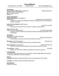 images about resume on pinterest  high school resume