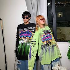 <b>NiceMix</b> 2019 <b>Fashion Korean</b> Streetwear Ladies Autumn Punk ...