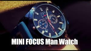<b>MINI FOCUS</b> Fashion <b>Luminous</b> Quartz Man Watch - YouTube