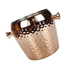 <b>1pc</b> Copper Champagne <b>Ice</b> Bucket Stainless Steel <b>Beer</b> Wine <b>Drink</b> ...