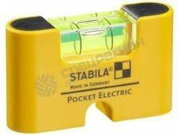 <b>Уровень</b> STABILA тип Pocket Electric — купить по низкой цене в г ...
