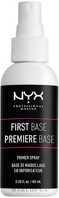 <b>NYX Professional Makeup</b> First Base Makeup Primer Spray ...