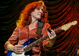 Bonnie Raitt has inspired many women to play the blues.