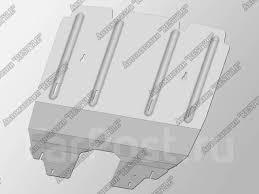 <b>Защита картера</b> двигателя Lexus GS350 <b>Алюминий 4</b> мм - GT и ...