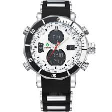 <b>WEIDE Men Army Military Sports</b> Quartz LED Wrist Watch Sale ...