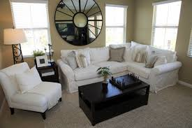 side table mirrors room interior living