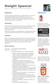 system administrator resume samples   visualcv resume samples databaselinux system administrator resume samples