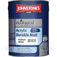 <b>Johnstones Acrylic Durable</b> Matt 2,5 л матовая эмульсия для ...